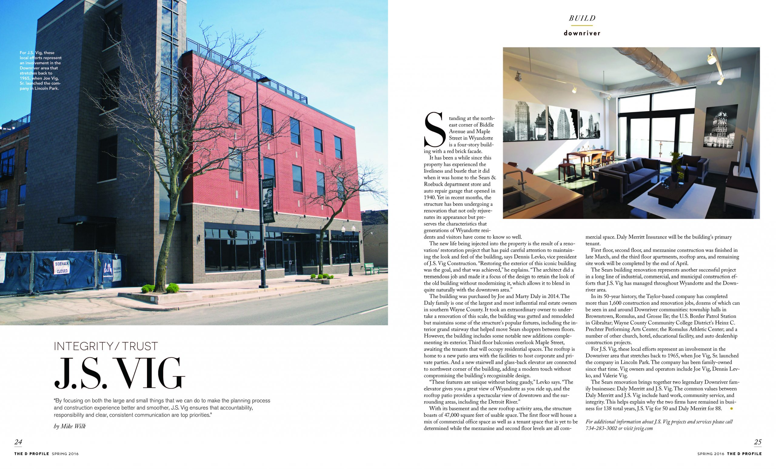 D Profile article Roebuck Residential