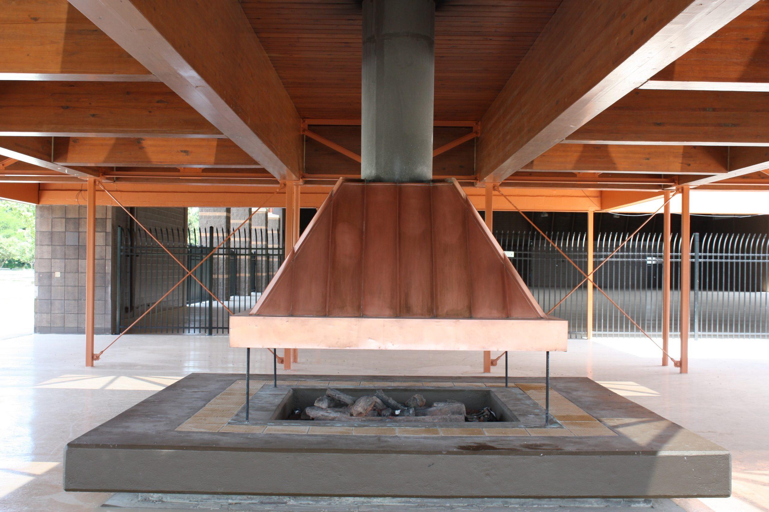 City of Taylor Sheridan Center Fireplace