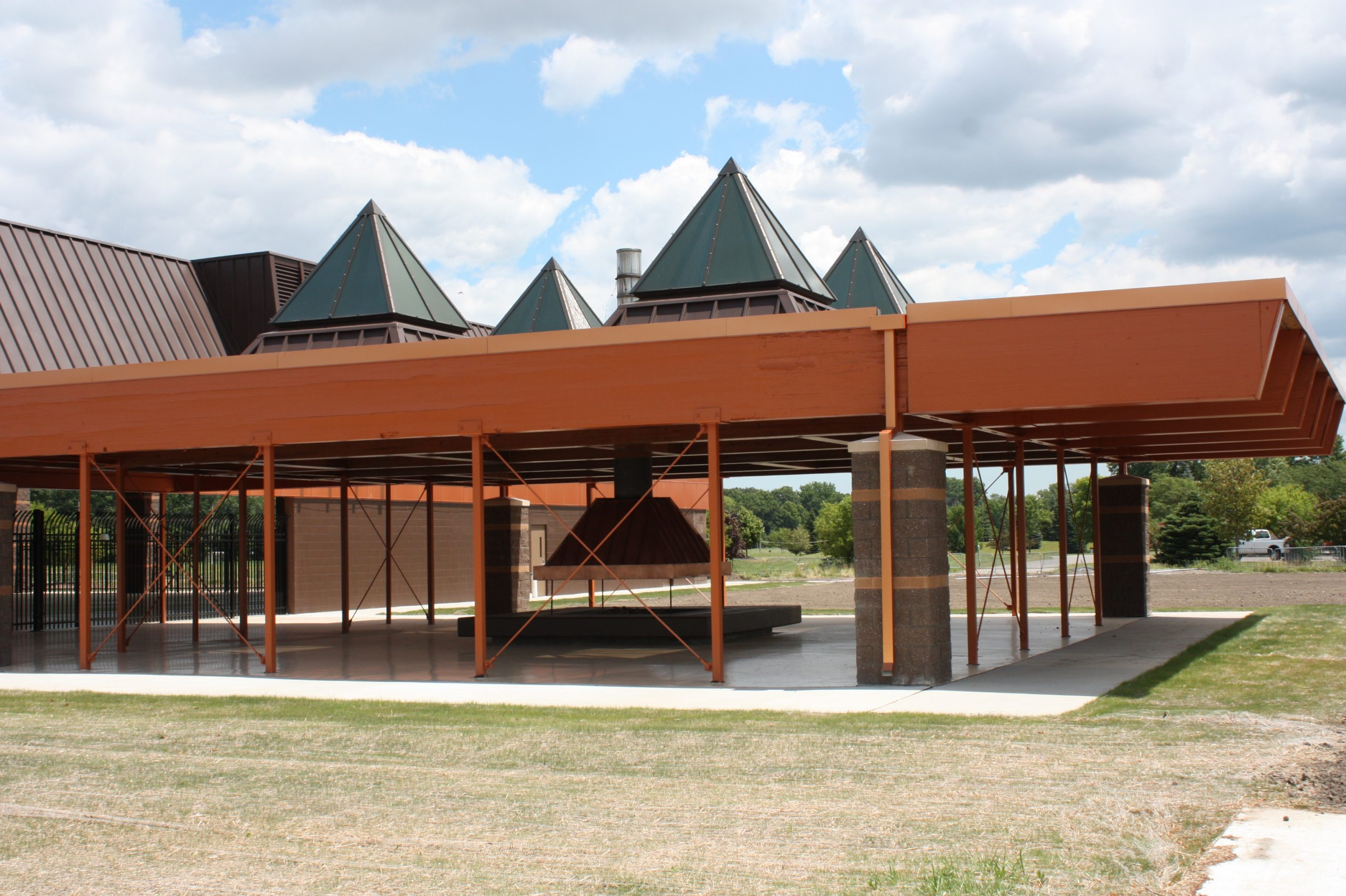 City of Taylor Sheridan Center Side View